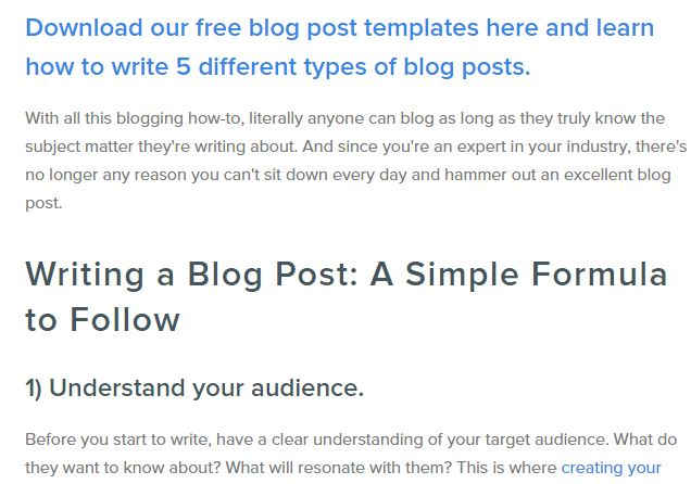 5 downloable hubspot, best blog writing templates, gerome soriano, growth bloggers