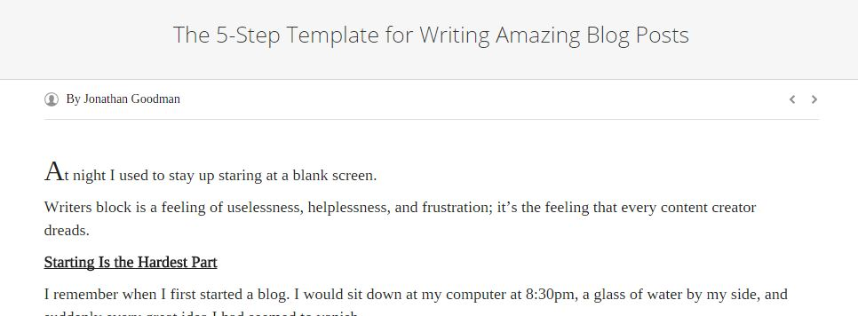 5 step viralnomics best blog writing templates by gerome soriano for growth bloggers