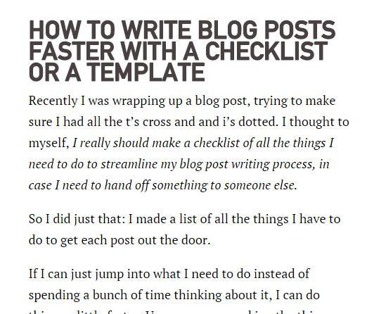 brad blackman checklist michael hyatt best blog writing templates by gerome soriano for growth bloggers