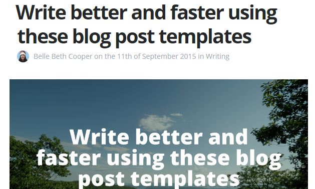 ghost blog, outline, write faster and better , best blog writing templates, gerome soriano, growth bloggers