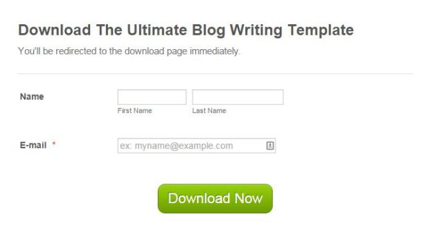 ultimate blog writing template download